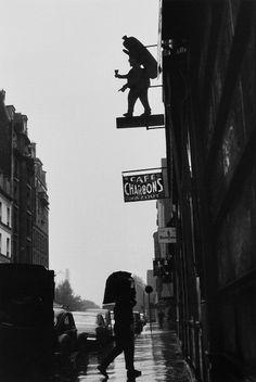 coal delivery, paris, 1950s [original] © robert doisneau