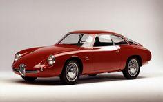 1959-1962 ALFA ROMEO GIULIETTA SZ 'CODA TRONCA' - by Carrozzeria Zagato of Milan.