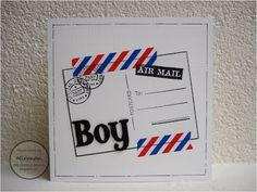 Miranda's Creaties - Air mail boy