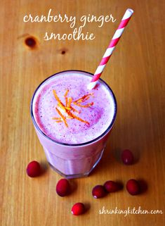 cranberry ginger smoothie (2)