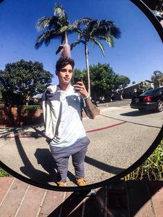 Luke mirror selfie