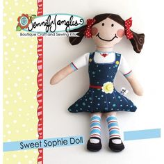 Sweet Sophie Doll Kit | Jennifer Jangles