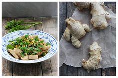 Kylling med ingefær Risotto, Ethnic Recipes, Food, Essen, Meals, Yemek, Eten
