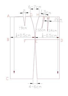 How to Draft a Simple Pencil Skirt Pattern