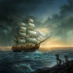 Conquest of the Seven Seas by sandara on DeviantArt
