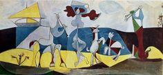 """Pablo Picasso, """"La joie de vivre"""""""
