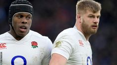 George Kruis and Maro Itoje
