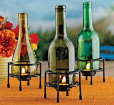 Wie Recycle: Recycling Leere Glasflaschen
