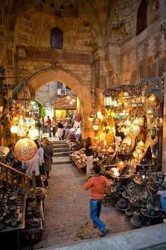 Khan el Khalili market, Cairo