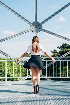 #model Edina | #tattoos Hating Love Tattoo (Hungary), Art Core Tattoo (Hungary) | #photographer sandorvegh.com (me)