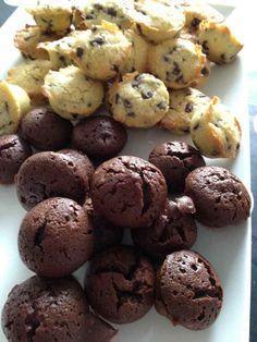 Acôte, ce sont des minis cookies ... trop bon aussi !!