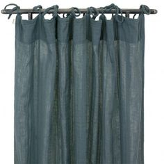 Numero 74 Curtain - `One size Details : Cotton, 1 piece(s), Handcrafted, Traditionally dyed * Composition : 100% Cotton gauze * Color : Grey blue * 100 x 290 cm. * Machine washable on delicate cycle, 30°C max http://www.MightGet.com/january-2017-13/numero-74-curtain--one-size.asp