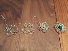 dreampaths Jewelry Designs: > WIRE ON THE NEEDLE