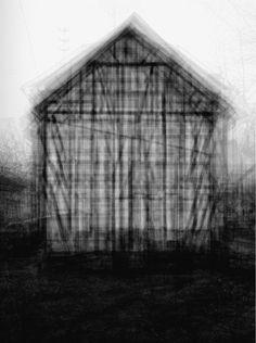 """every…Bernd and Hilla Becher Gable Sided Houses"" Lambda digital C print 80 x 65 in 2004 By Idras Khan"