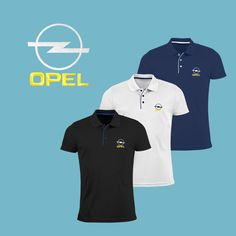 OPEL Polo Shirt EMBROIDERED Slim Fit Polyester Black Navy Blue White Auto  Car Logo T Shirt Tee Fans Gift Clothes Sport Birthday Mens 00beb83bd8d78