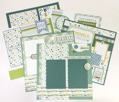 Baby Scrapbook Page Kits