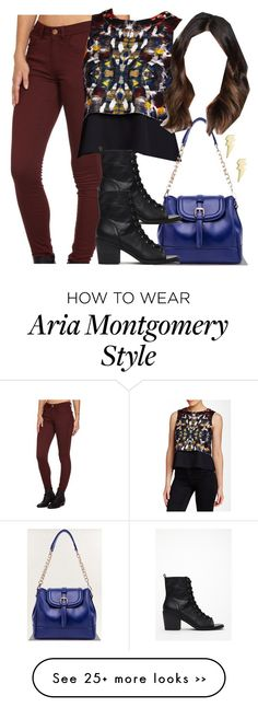 """""""Aria Montgomery inspired outfit with requested top"""" by liarsstyle on Polyvore"""
