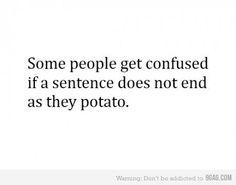 #confusion