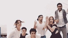 The Teen Wolf cast at Comic Con. They are solo cute! Tyler Hoechlin, Tyler Posey, Holland Roden, Dylan O'Brien, Shelley Henning, and Dylan Sprayberry