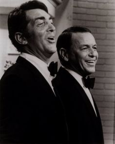 Dean Martin and Frank Sinatra Christmas.  Marshmallow World.