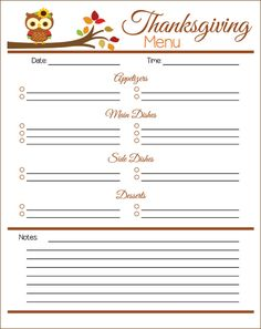 free printable thanksgiving menu planner free printables pinterest thanksgiving menu. Black Bedroom Furniture Sets. Home Design Ideas
