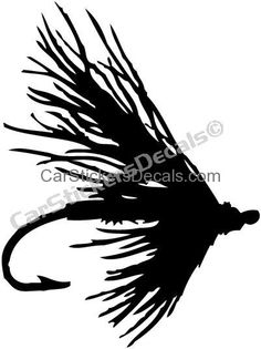 fly fishing window decals google search fishing silhouettes rh pinterest com fly fishing clip art free fly fishing clip art free images
