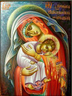 The Theotokos by Stelios Stelios of Cyprus