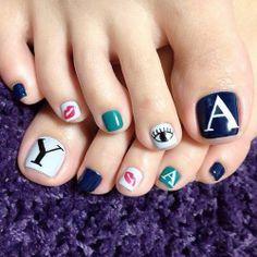 Alphabet  #nail #nails #nailart