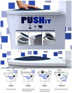 a toilet you can solve clogged problem
