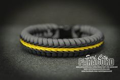 Double Stitched Paracord Fishtail Bracelet.  by SurfCityParacord