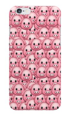Pig Emoji Pattern by Rad Merch