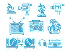 Various Icons 1-3 by Nick Slater