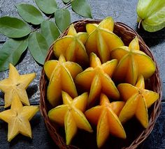 Carambola or starfruit is the fruit of Averrhoa carambola, a species of tree native to the Philippines, Indonesia, Malaysia, India, Bangladesh and Sri Lanka. Popular throughout Southeast Asia, the South Pacific and parts of East Asia, the tree is also cultivated throughout non-indigenous tropical areas, such as Latin America, the Caribbean, and the southern US
