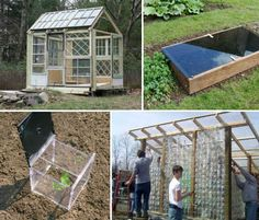 DIY Greenhouses: 10 Structures You Can Build Yourself - webecoist.com