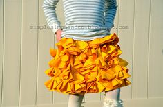 Bustle Skirt tutorial by Simple Simon & Co #sew #diy