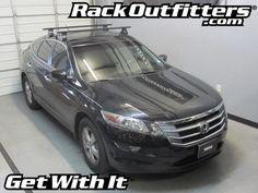 Rack Outfitters - Honda Crosstour Thule Rapid Traverse BLACK AeroBlade Base Roof Rack, $381.85 (http://www.rackoutfitters.com/honda-crosstour-thule-rapid-traverse-black-aeroblade-base-roof-rack/)