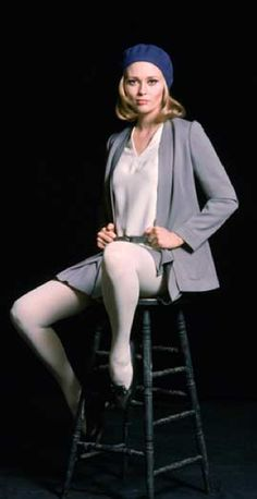 "Faye Dunaway in ""The Thomas Crown Affair"", 1968 Faye Dunaway, Jean Simmons, Marilyn Monroe, Sharon Tate, Marlene Dietrich, Catherine Deneuve, Jane Fonda, Joan Crawford, Sophia Loren"