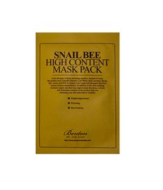 This sheet mask contains snail excretion and bee venom, two big ingredients the beauty world has been buzzing about for their anti-aging and skin soothing properties. Cleanse your face, then pop on this baby for 20 to 30 minutes.  Benton Snail Bee High Content Mask Pack ($3, Beauteque.com)
