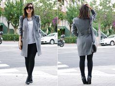 Blogger MirianasWorld in her self-customized, tailored Sumissura coat! | Sumissura.com