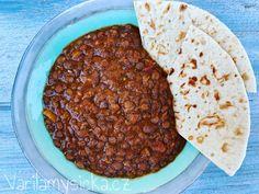 Velkozrnná čočka Dhal, Garam Masala, Bread, Food, Brot, Essen, Baking, Meals, Breads
