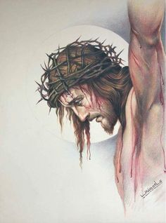 Thank you, Jesus! Jesus Tattoo, Religious Pictures, Jesus Pictures, Religious Tattoos, Religious Art, Catholic Tattoos, Christus Tattoo, Immaculée Conception, Jesus Drawings