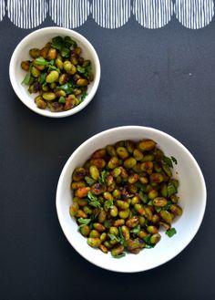 Thai-Spice Crispy Edamame
