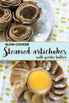 An easy recipe for artichokes infused with garlic butter.