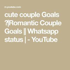 cute couple Goals ❤|Romantic Couple Goals || Whatsapp status | - YouTube Cute Couples Goals, Couple Goals, Dancing Day, Romantic Couples, The Creator, Youtube, Couples, Youtubers, Relationship Goals