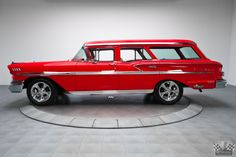 1958 Chevrolet  Nomad ... Despite red hot sales for Chevrolet's top sedan, the Impala, the brand's top wagon, the Nomad, proved less popular and, thanks to attrition, has now become somewhat of a rarity.