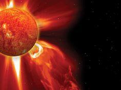 Éruptions solaires : le point sur ce phénomène naturel qui agite le Soleil et a des répercussions jusque sur notre planète. / GEO