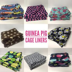 Custom Cage Liners | Absorbent Layer | guinea pig, rabbit, hedgehog | Guinea Pig Cage | C&C Cages | Midwest Cages | Guinea Pig Fleece