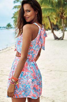 Lilly Pulitzer Selina Halter Top & Skirt Set