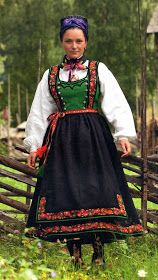 Hello all, This is the second part of my overview of the costumes of Norway. This will cover the central row of provinces in Eastern N. Summer Outfits Women, Summer Dresses, Norwegian Clothing, Scandinavian Fashion, Folk Costume, Ethnic Fashion, Women's Fashion, Traditional Dresses, Norway