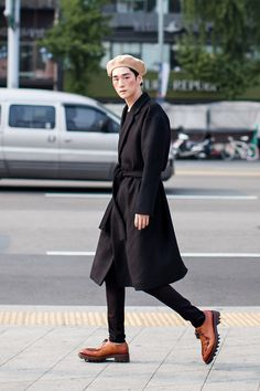 kOn the street… Kim Kibum Seoul fashion week 2016 S/S